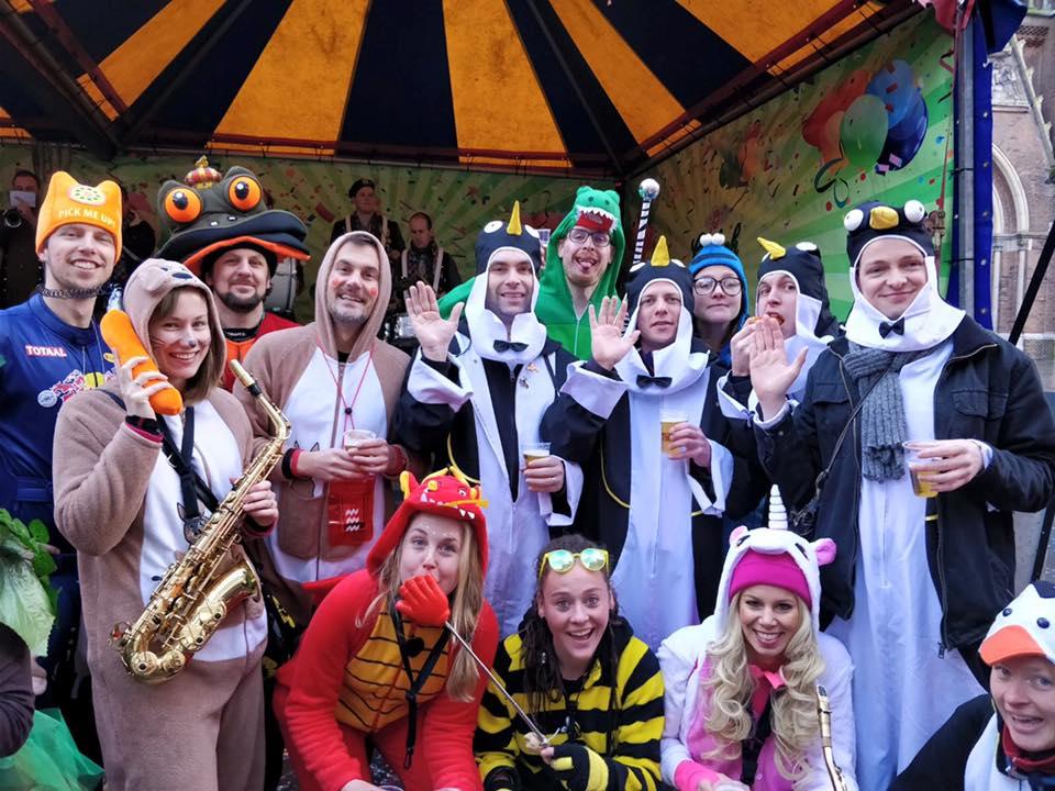 Carnaval 2018 voor AF3